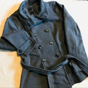 Forever 21 Button Down Jacket with Tie Belt